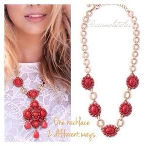 NWOT Stella & Dot Sardinia Pendant Necklace